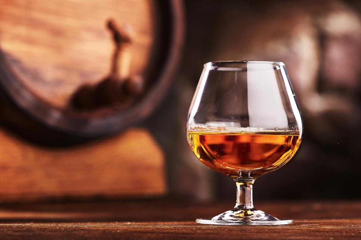 Quelle glace avec cognac