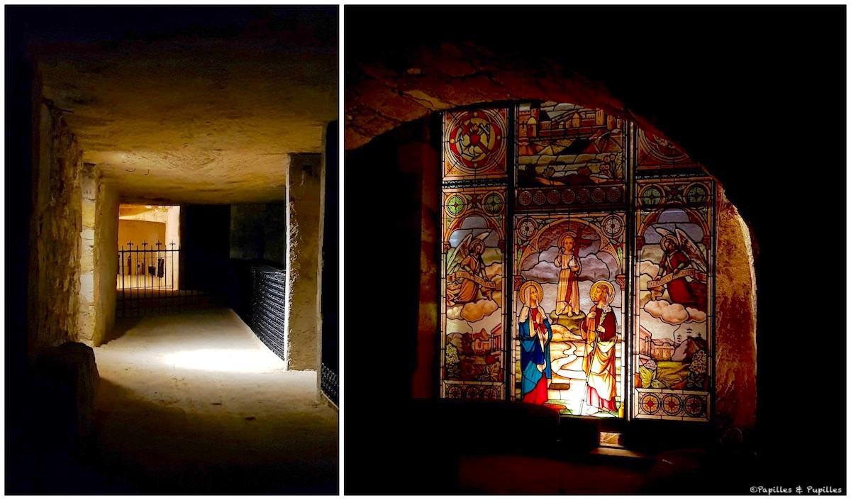 Dans les caves de Beau Séjour Bécot