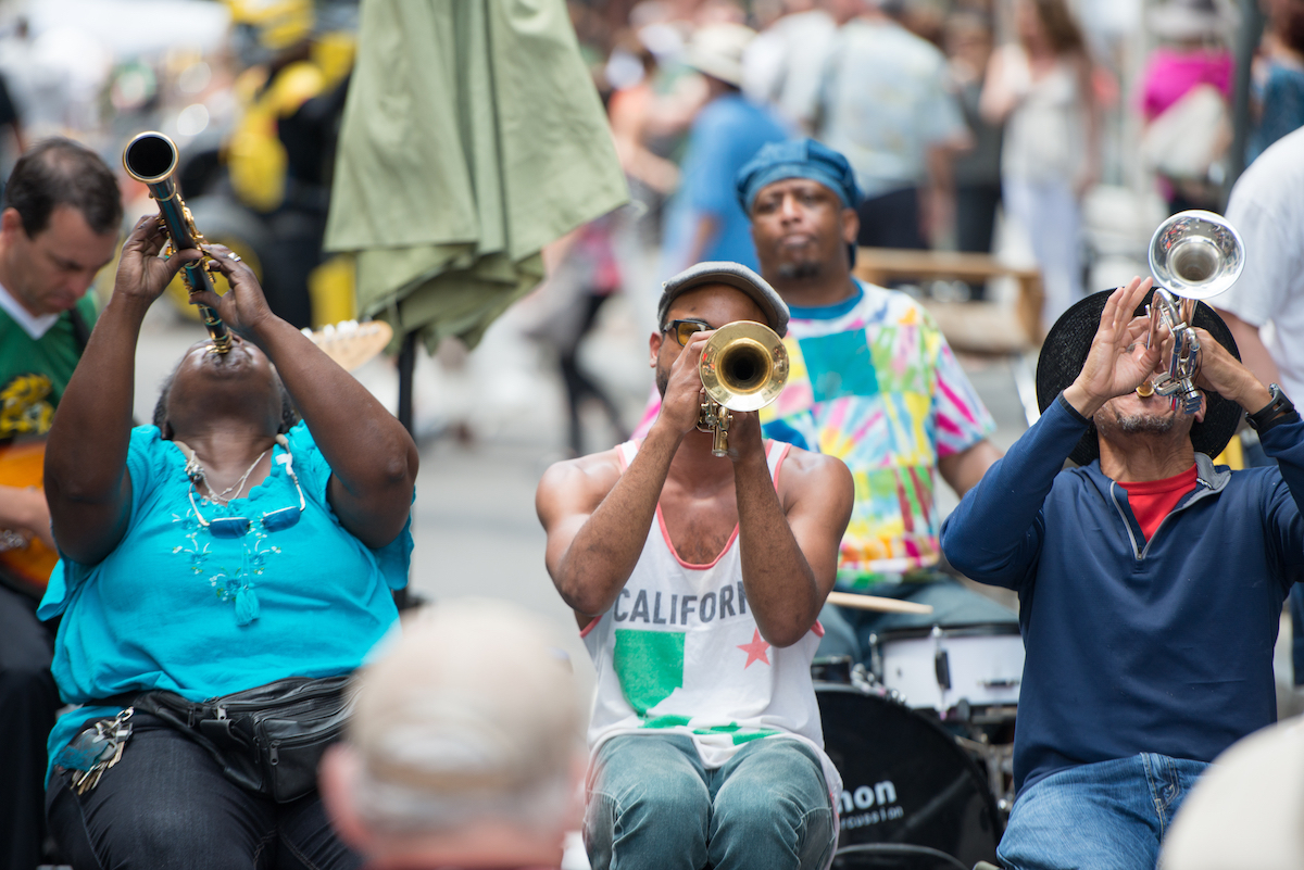 JAzz Band Bourbon Street ©Kelleher Photography shutterstock