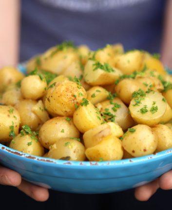 Pommes de terre Marjolaine sarriette et persil