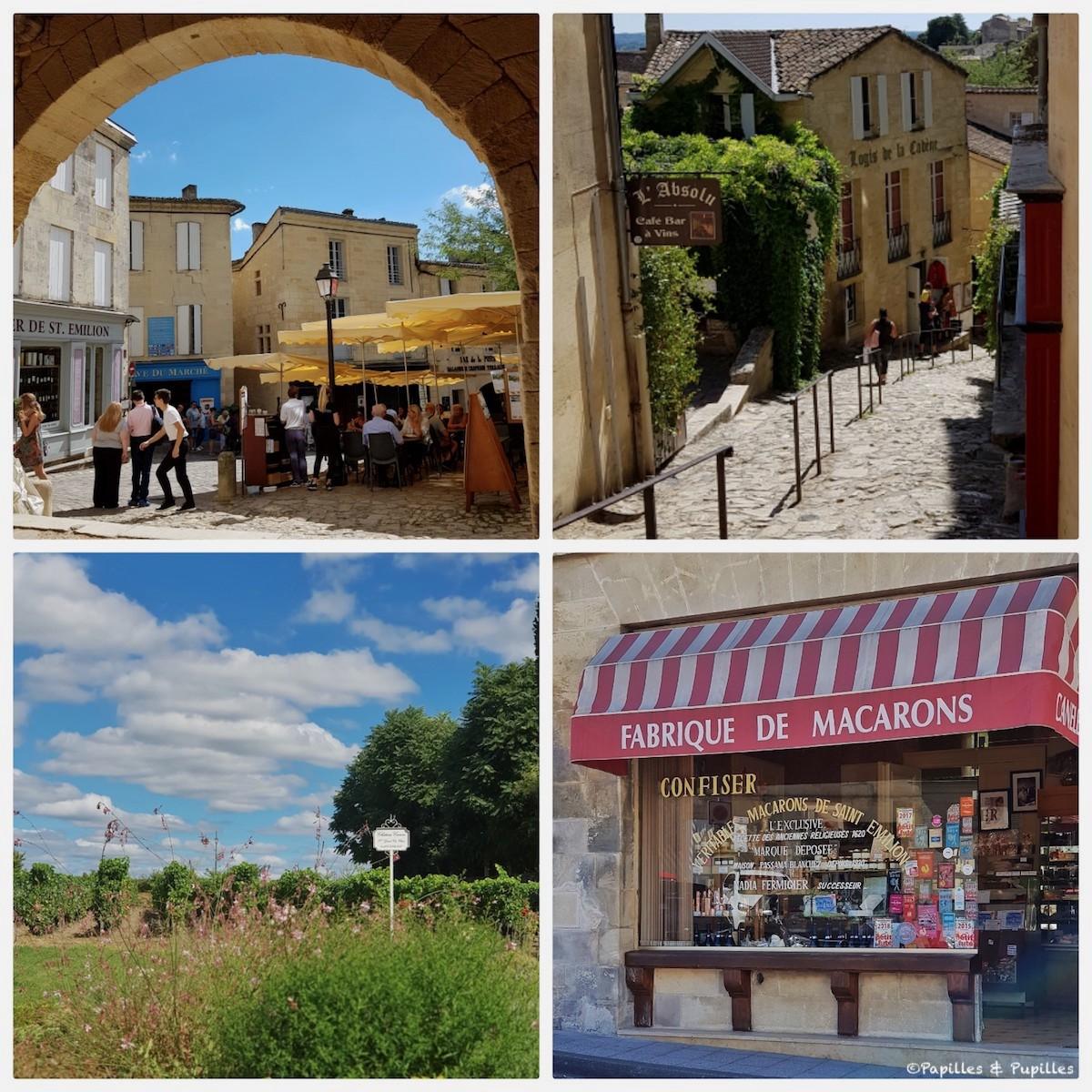 Saint Emilion - Ruelle et macaron