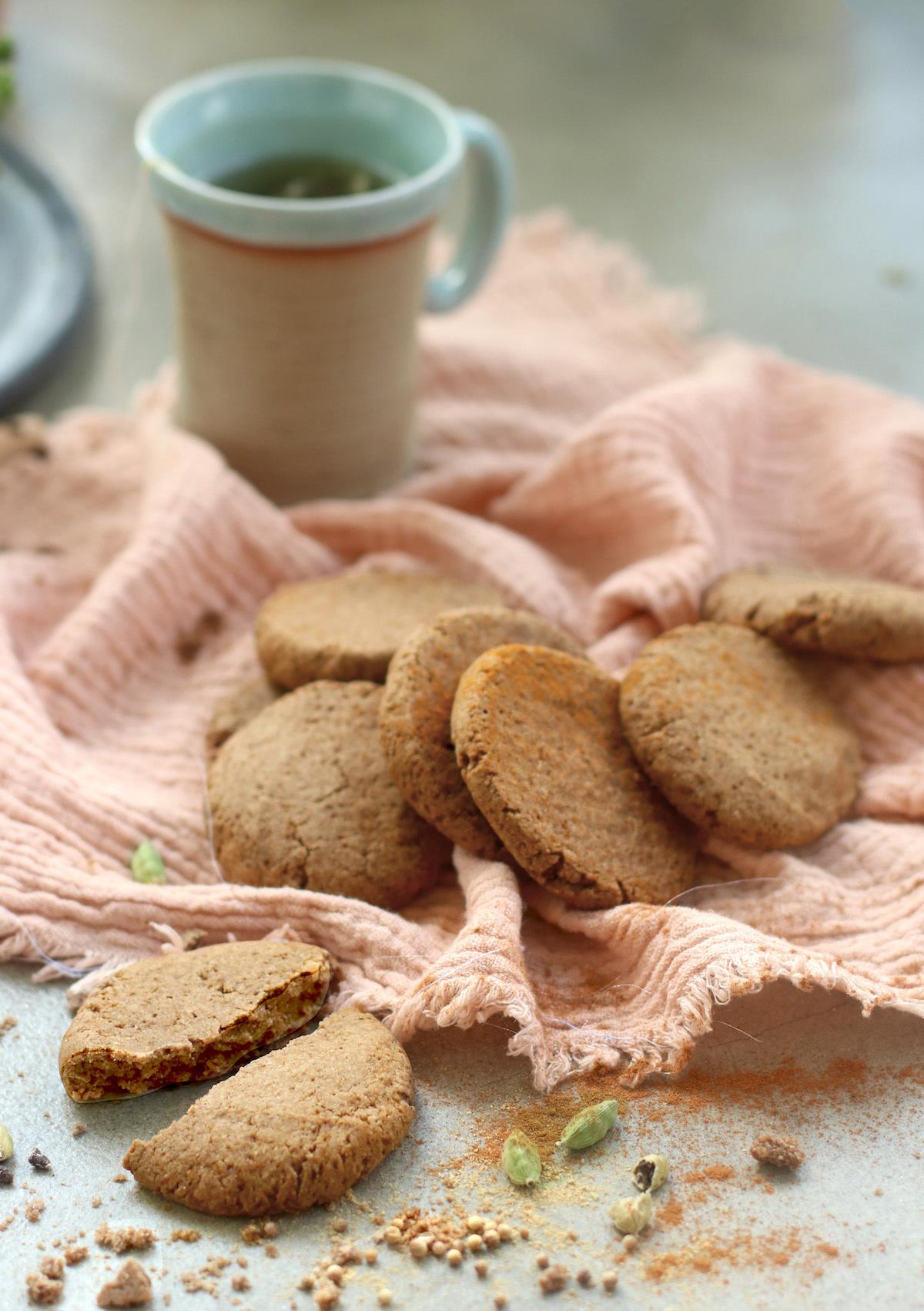 Cookies épices douces et coco ©ClemenceCatz