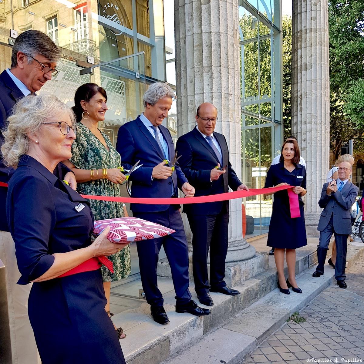 Inauguration Agence Air France