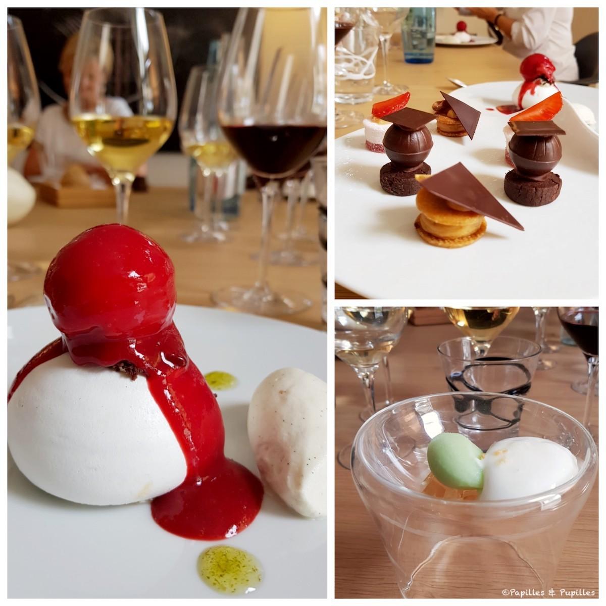 Pré dessert - dessert - mignardises - Saint James