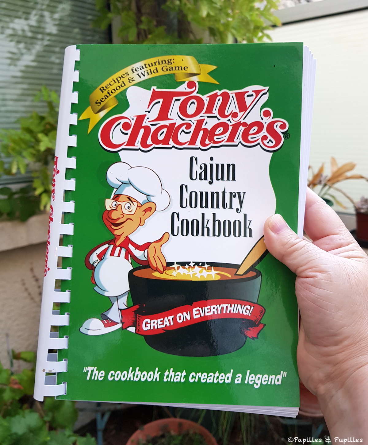 Tony Chacheres Cajun Country Cookbook