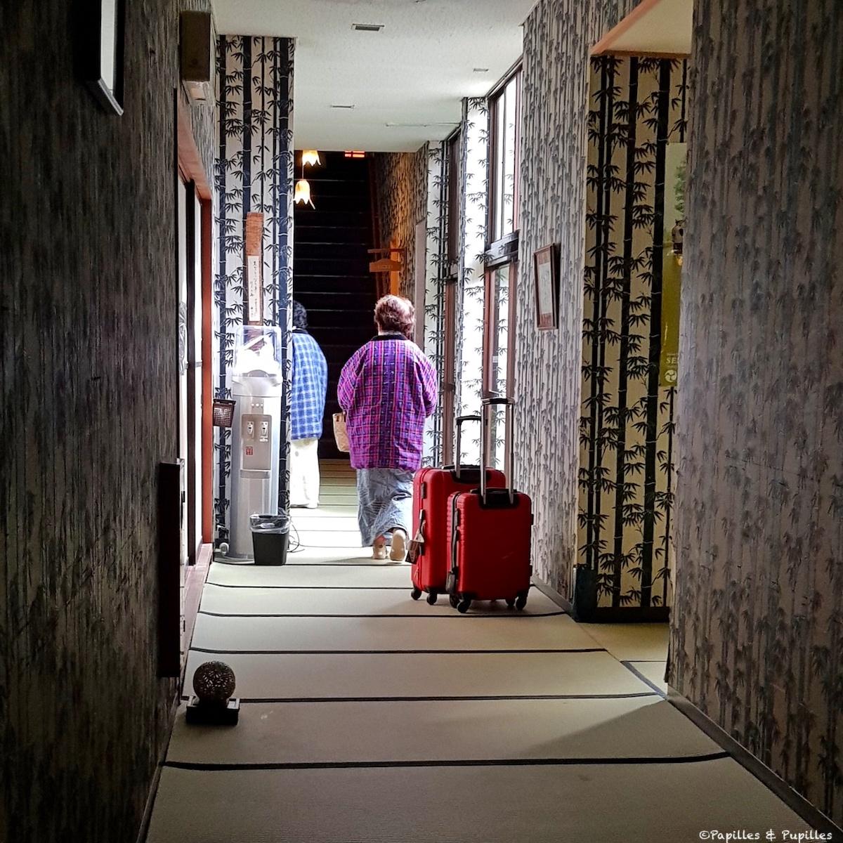 A l'intérieur d'un ryokan