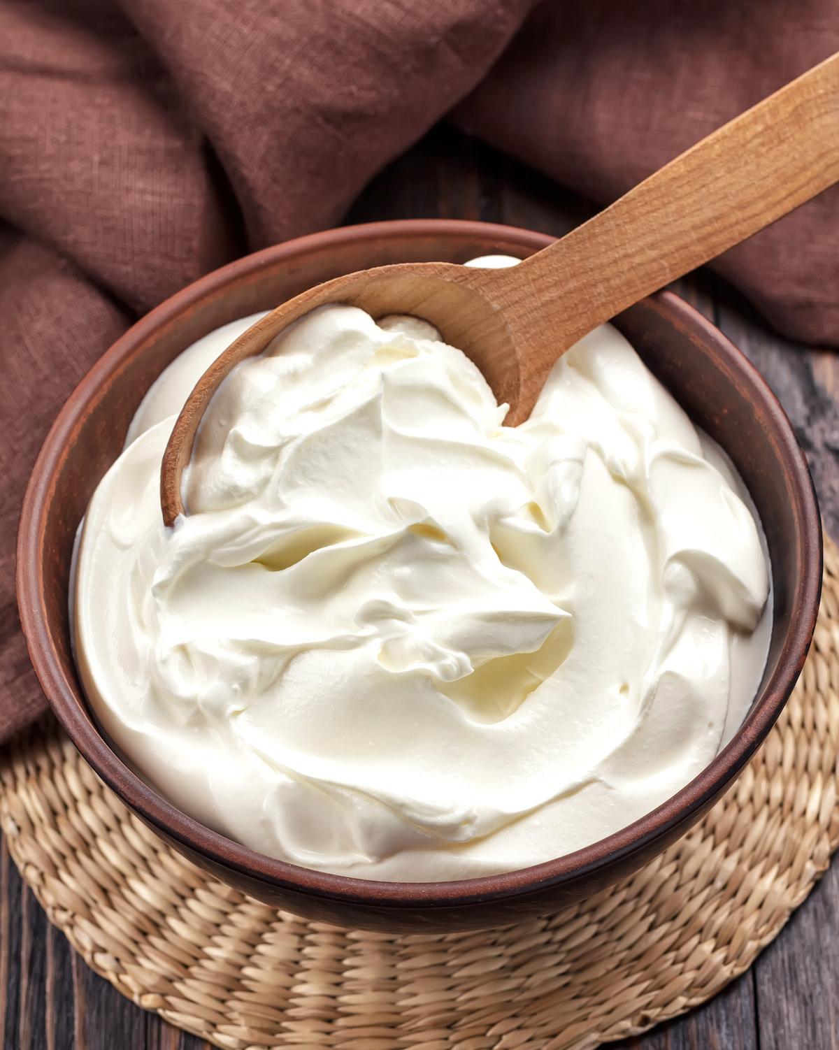Crème aigre ©Sea Wave shutterstock