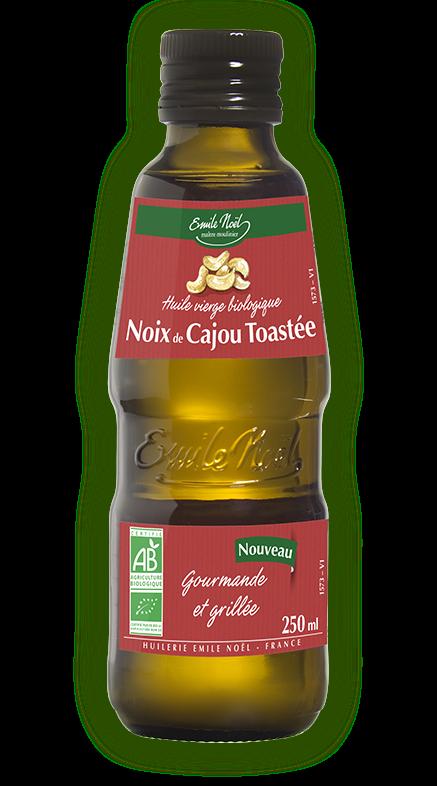 Huile de noix de Cajou toastée