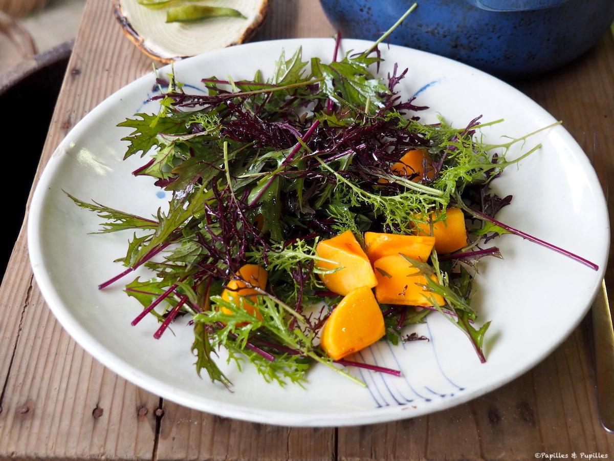 Salade Mizuma Kaki