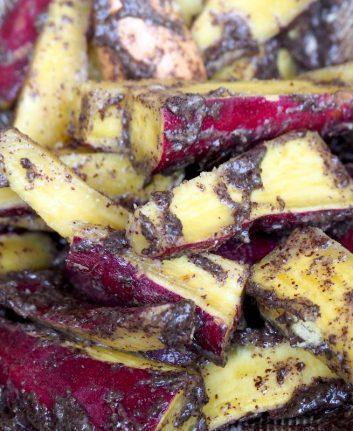 Salade de patate douce à la sauce egoma