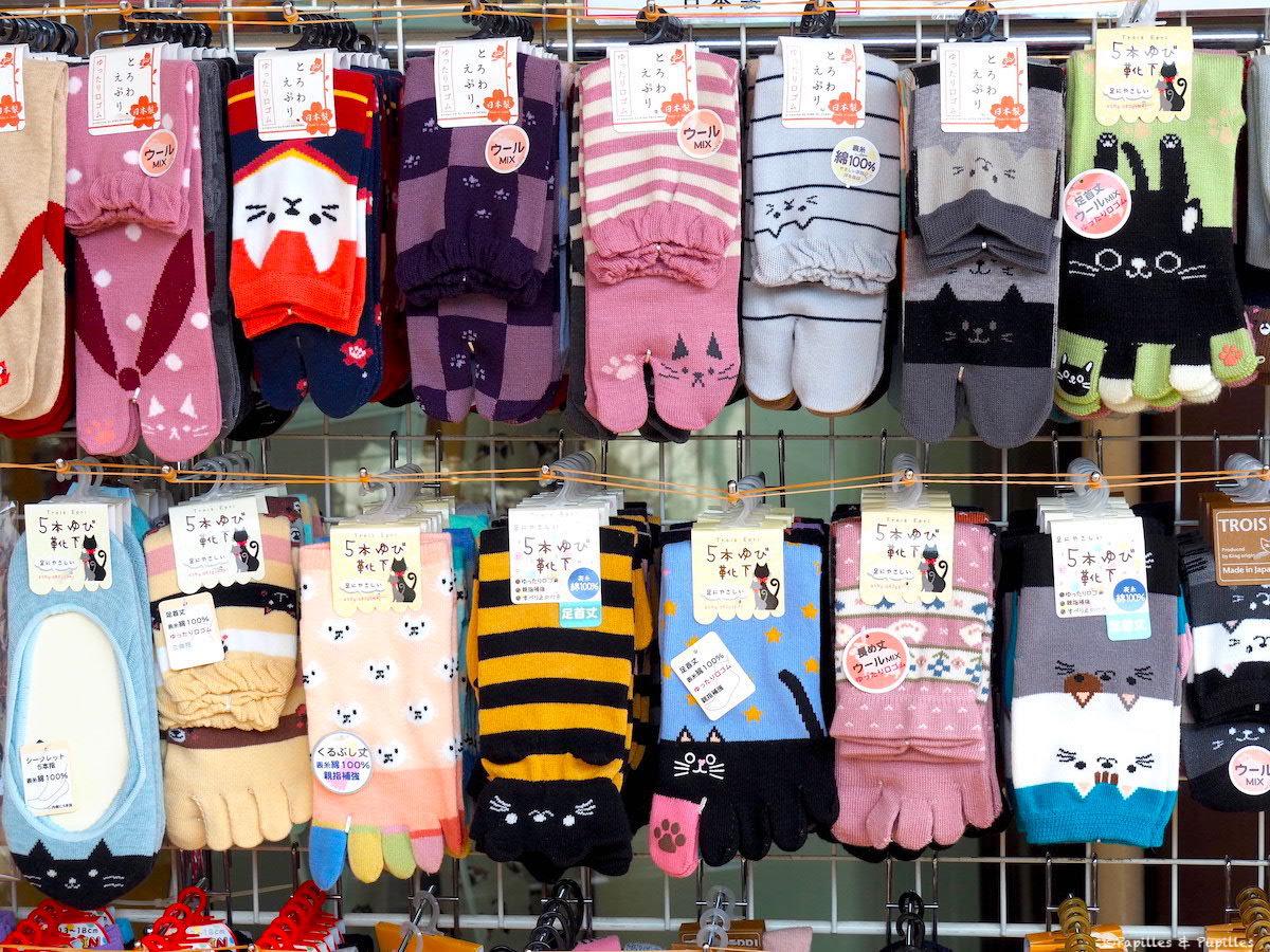 Chaussettes japonaises Tabi