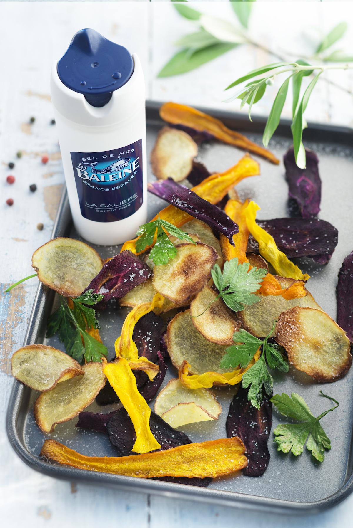 Chips de légumes au four ©Patricia Kettenhofen