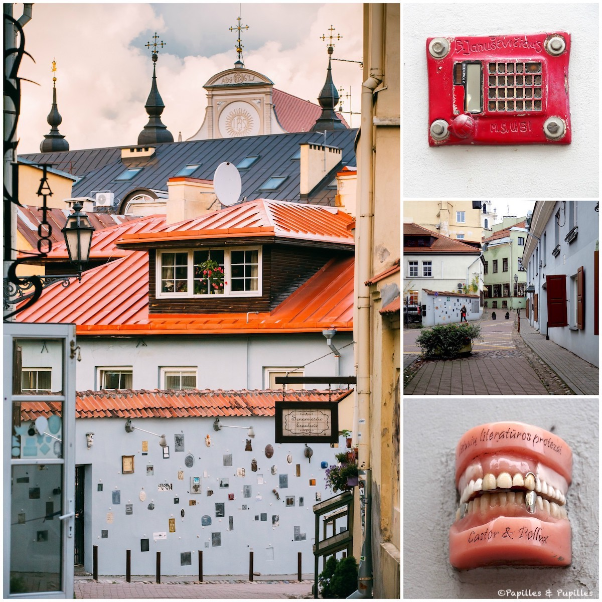 Rue de la Littérature - Vilnius