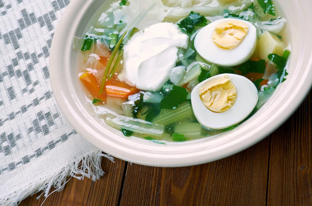 Soupe à l'oseille - Lituanie ©Fanfo shutterstock