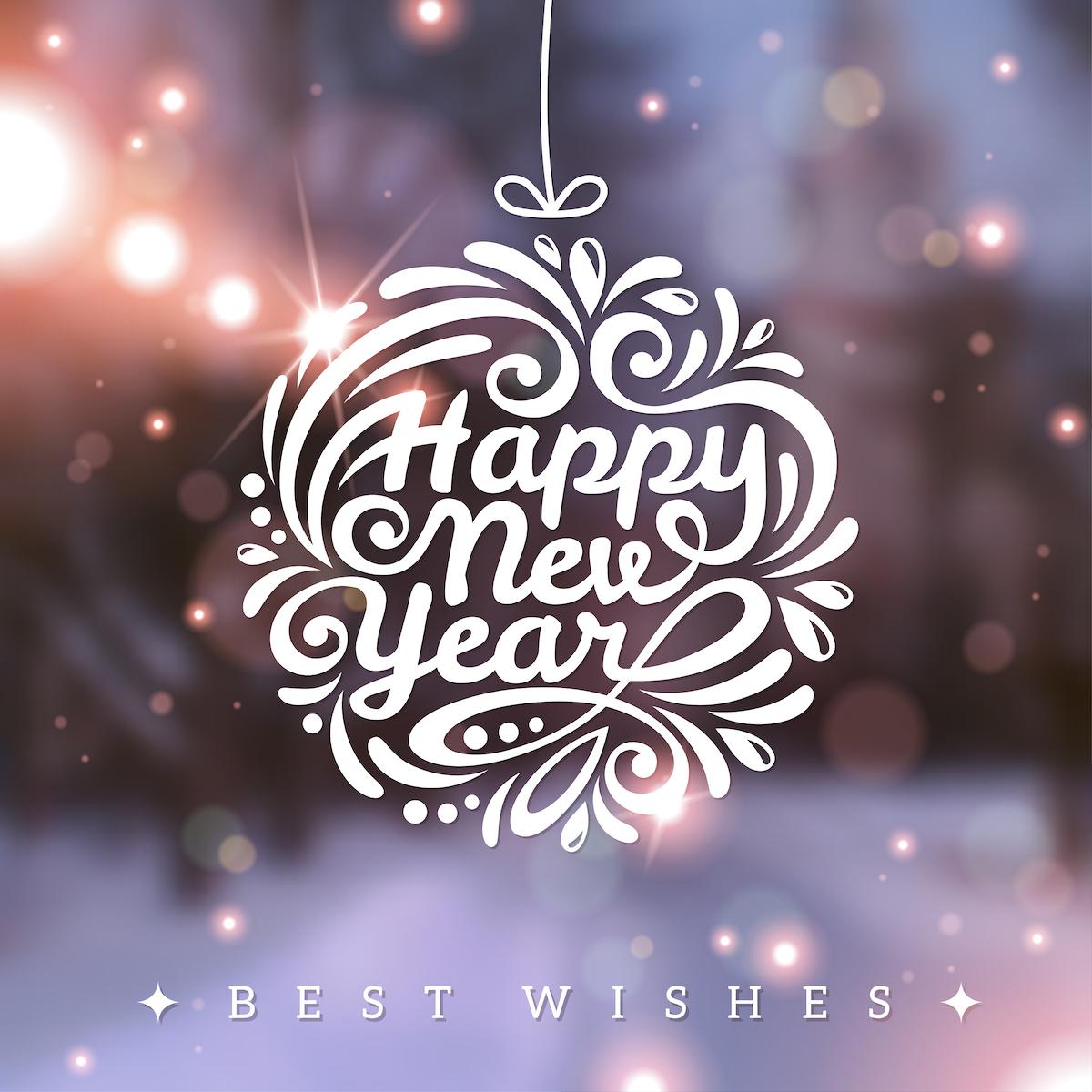 Bonne année et meilleurs voeus ©kotoffei shutterstock