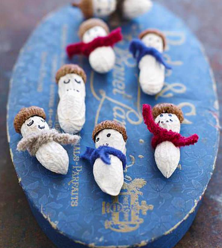 Cacahuètes des neiges. ©Sweet Paul