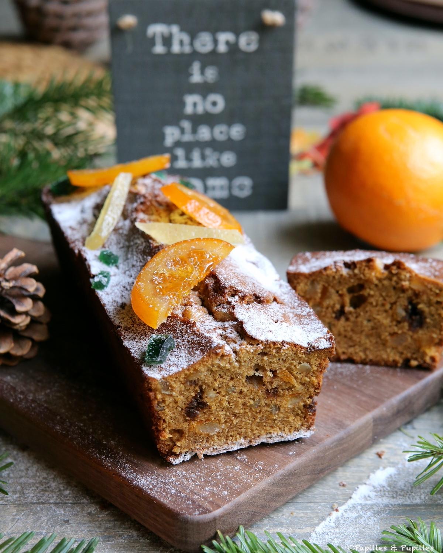Cake à l'orange, au romarin et à l'huile d'olive