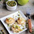 Saint Jacques, pomme et pistache -
