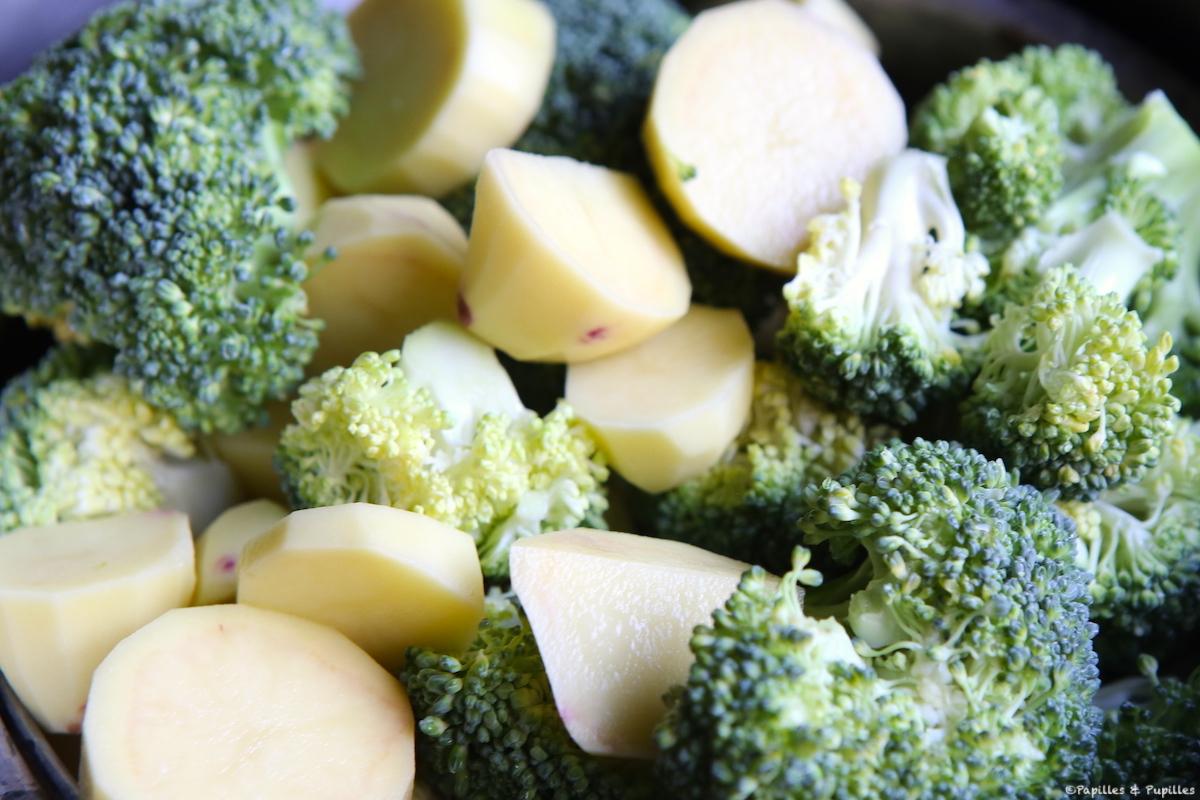Brocolis et pommes de terre