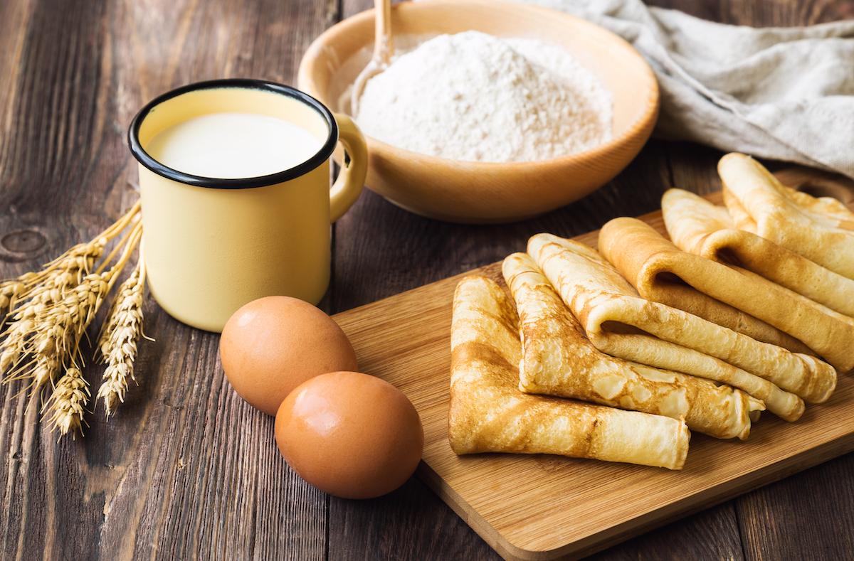Sweet pancakes © Anastasia Izofatova shutterstock