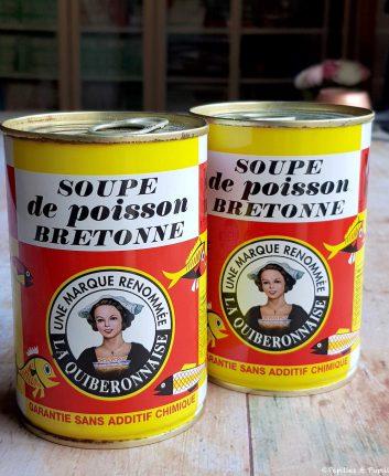 Soupe de poisson La Quiberonnaise