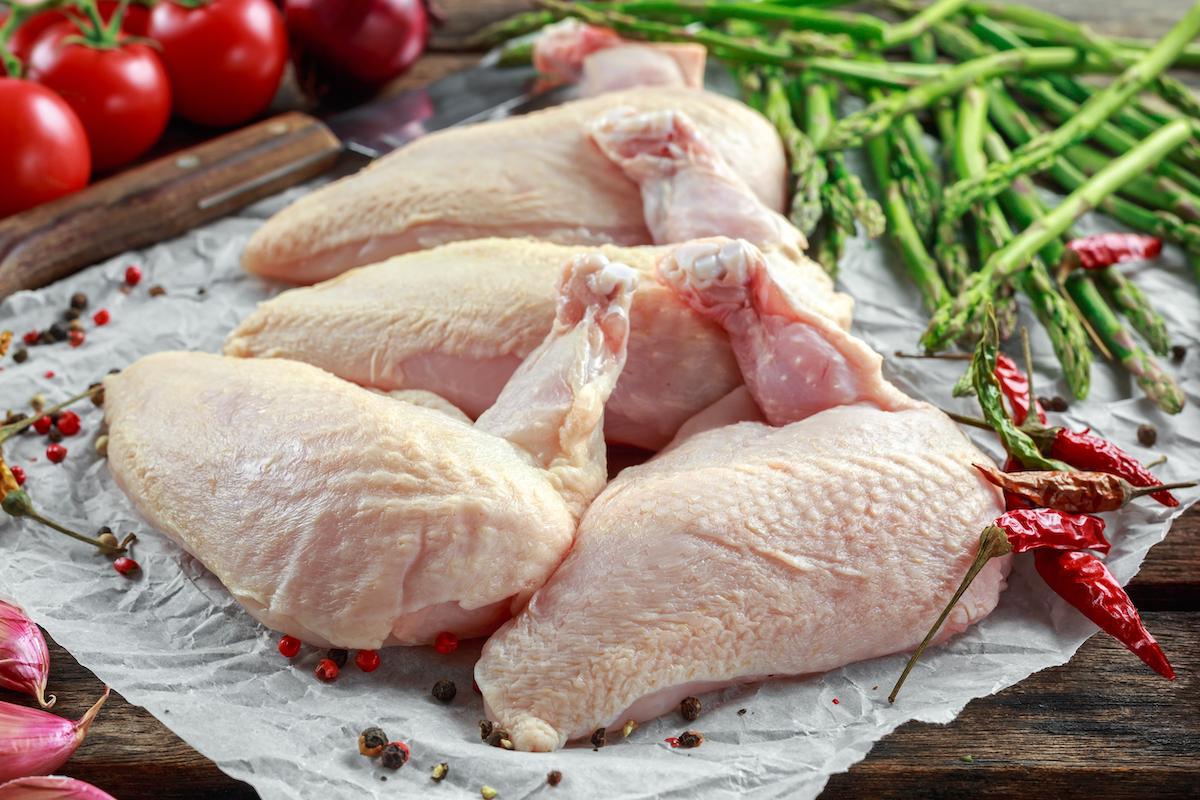 Suprêmes de poulet