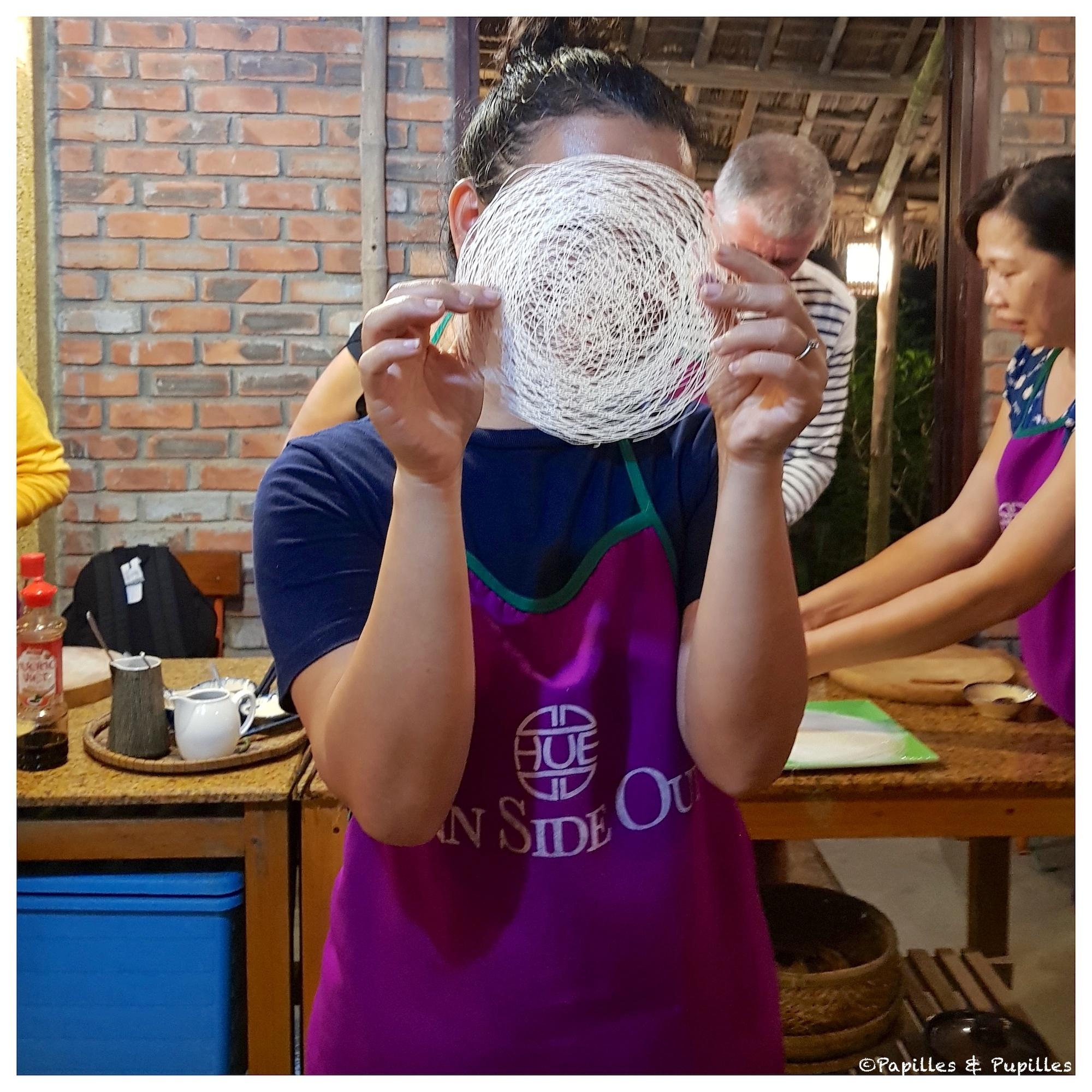 Galettes de riz ajourées
