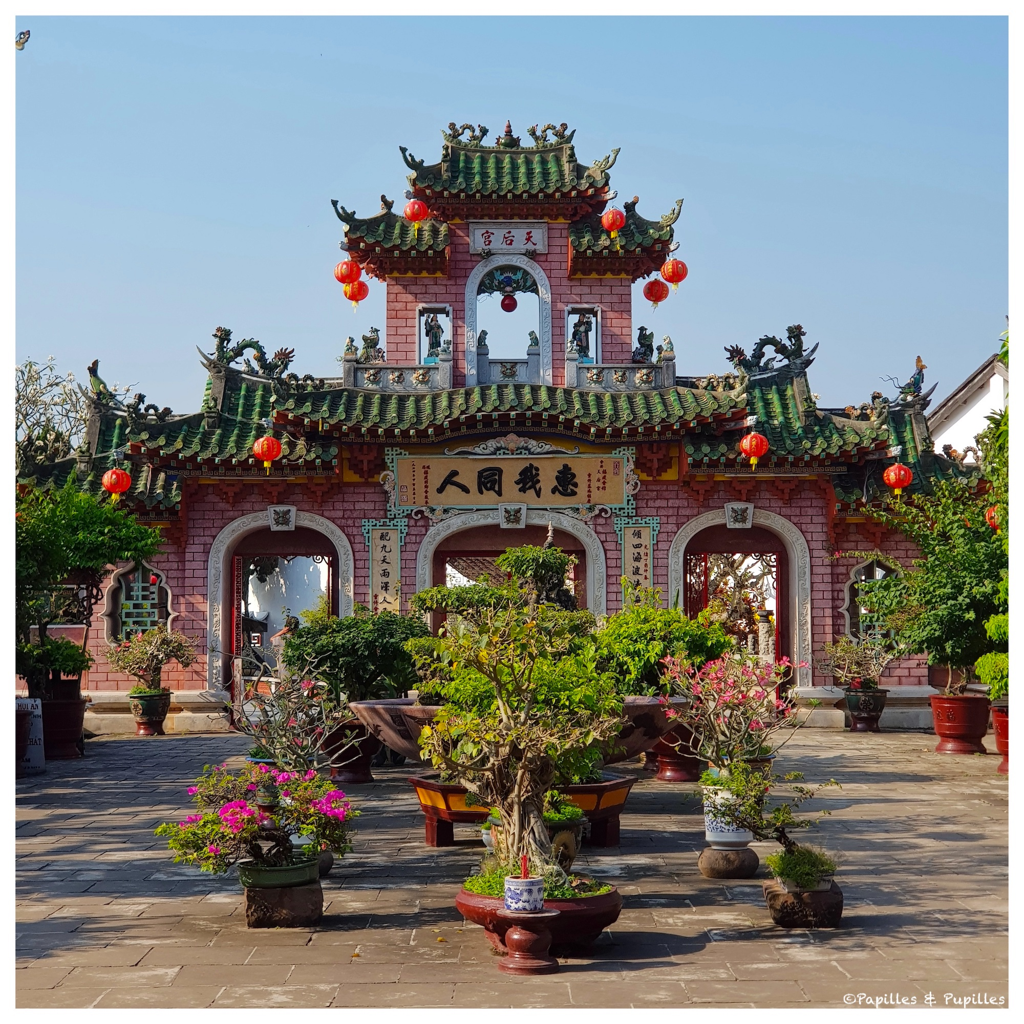 Hoi An- Le temple chinois