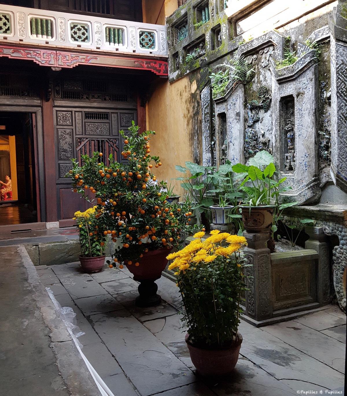 Intérieur maison chinoise Hoi An