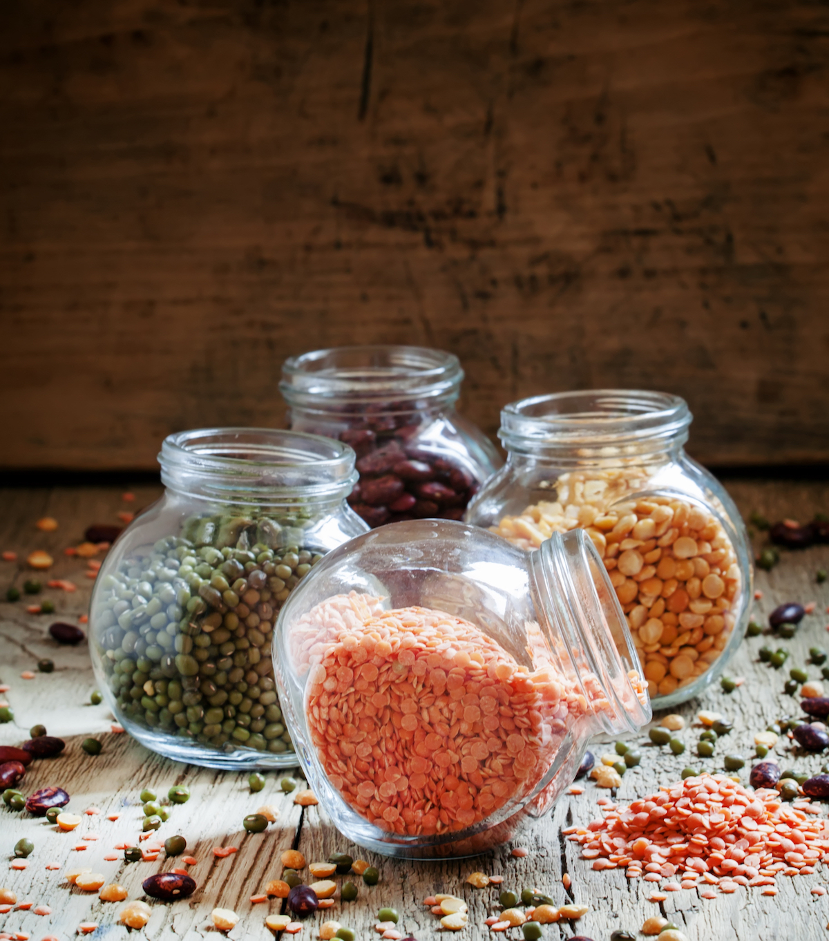 Légumes secs ©5PH shutterstock