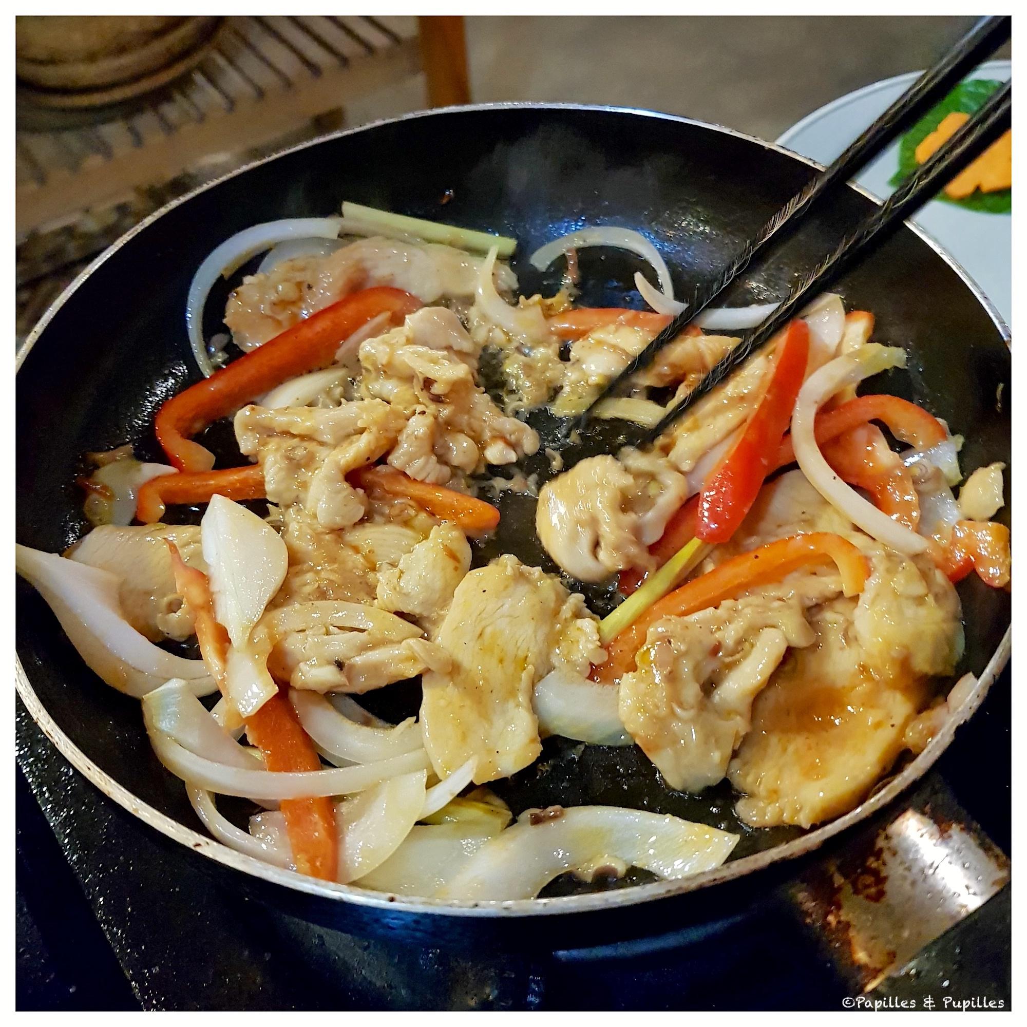 Poulet à la vietnamienne