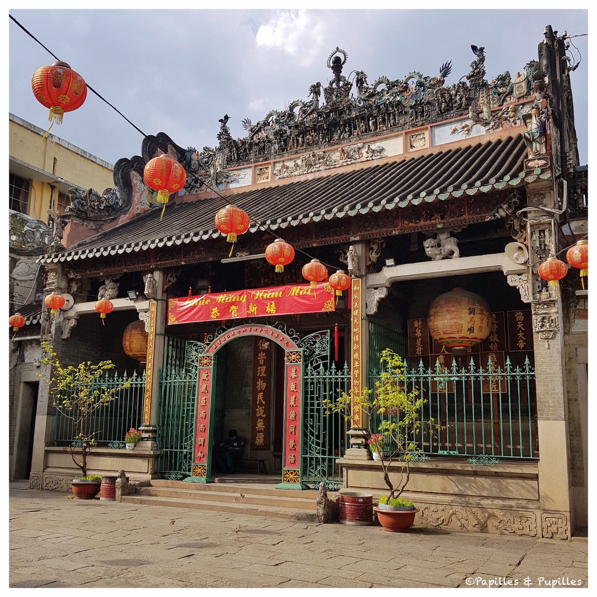 Temple Taoïste - Saigon