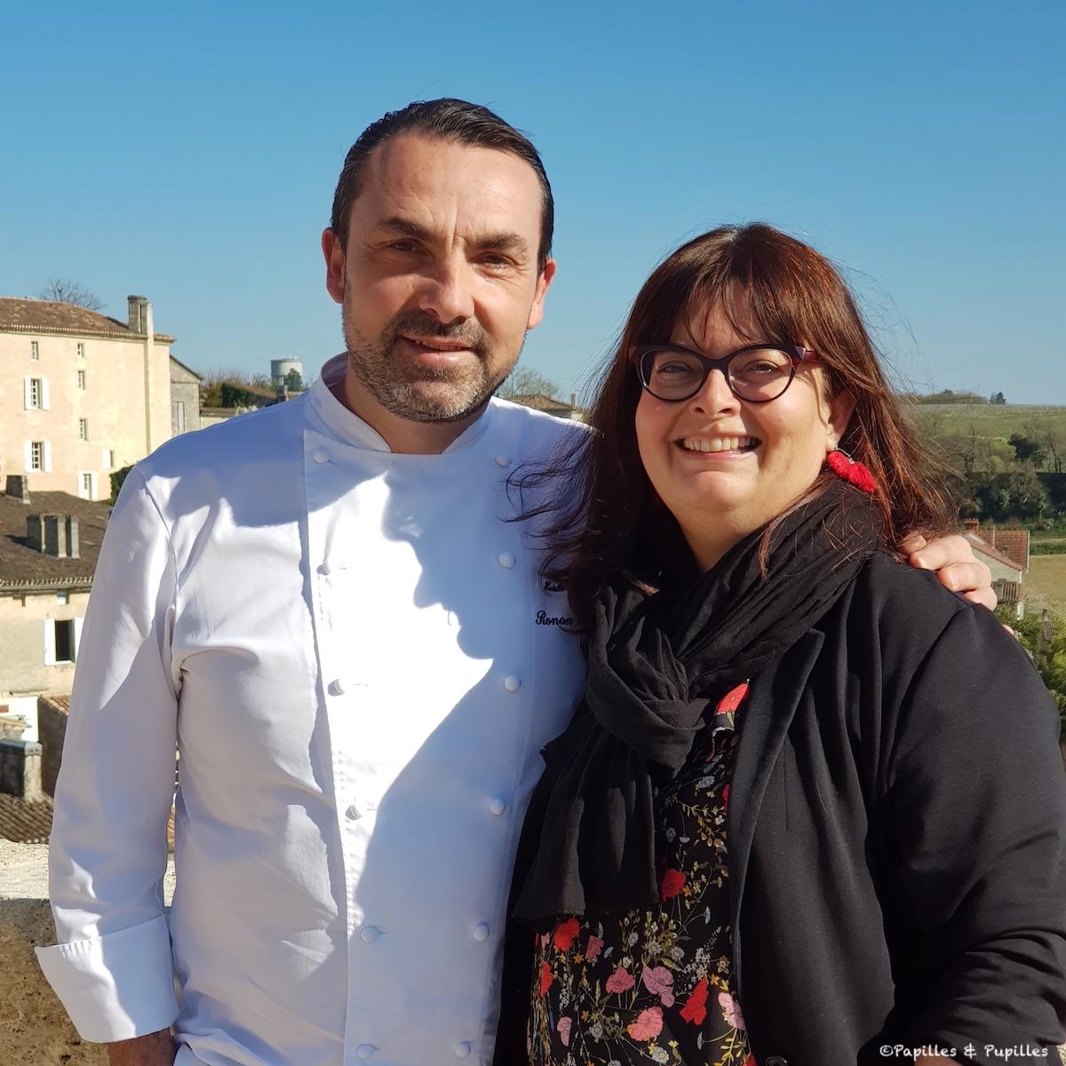 Avec Ronan Kervarrec à Saint Emilion