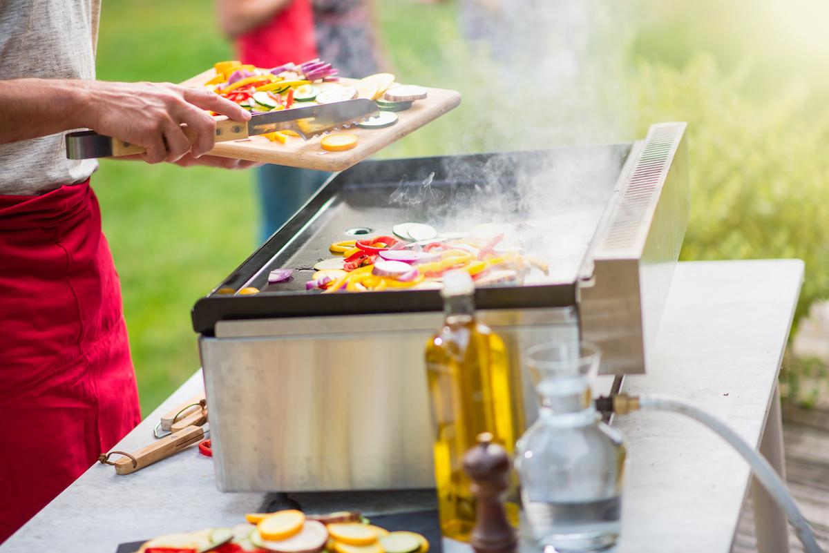 Cuire des légumes à la plancha © Jack Frog shutterstock