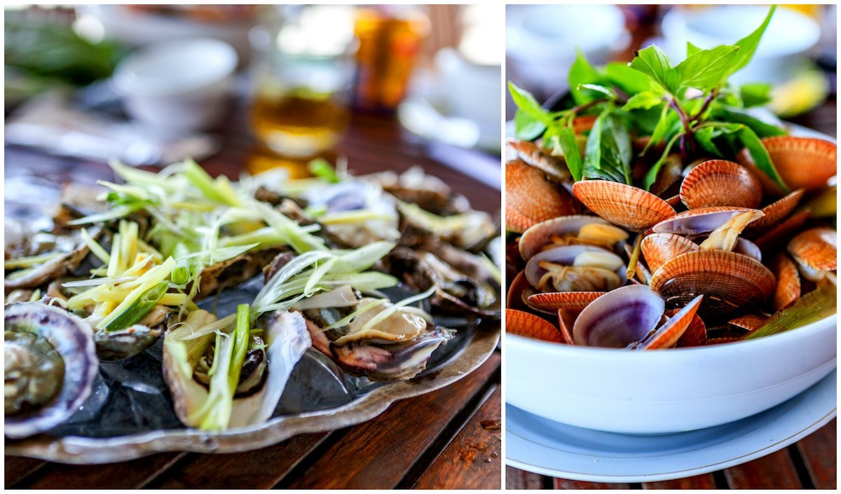 Fruits de mer - Coquillages Lang Co © Tonkinphotography Shutterstock