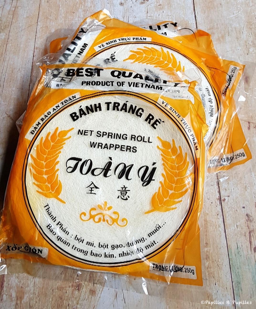 Galettes de riz - Banh Trang Re