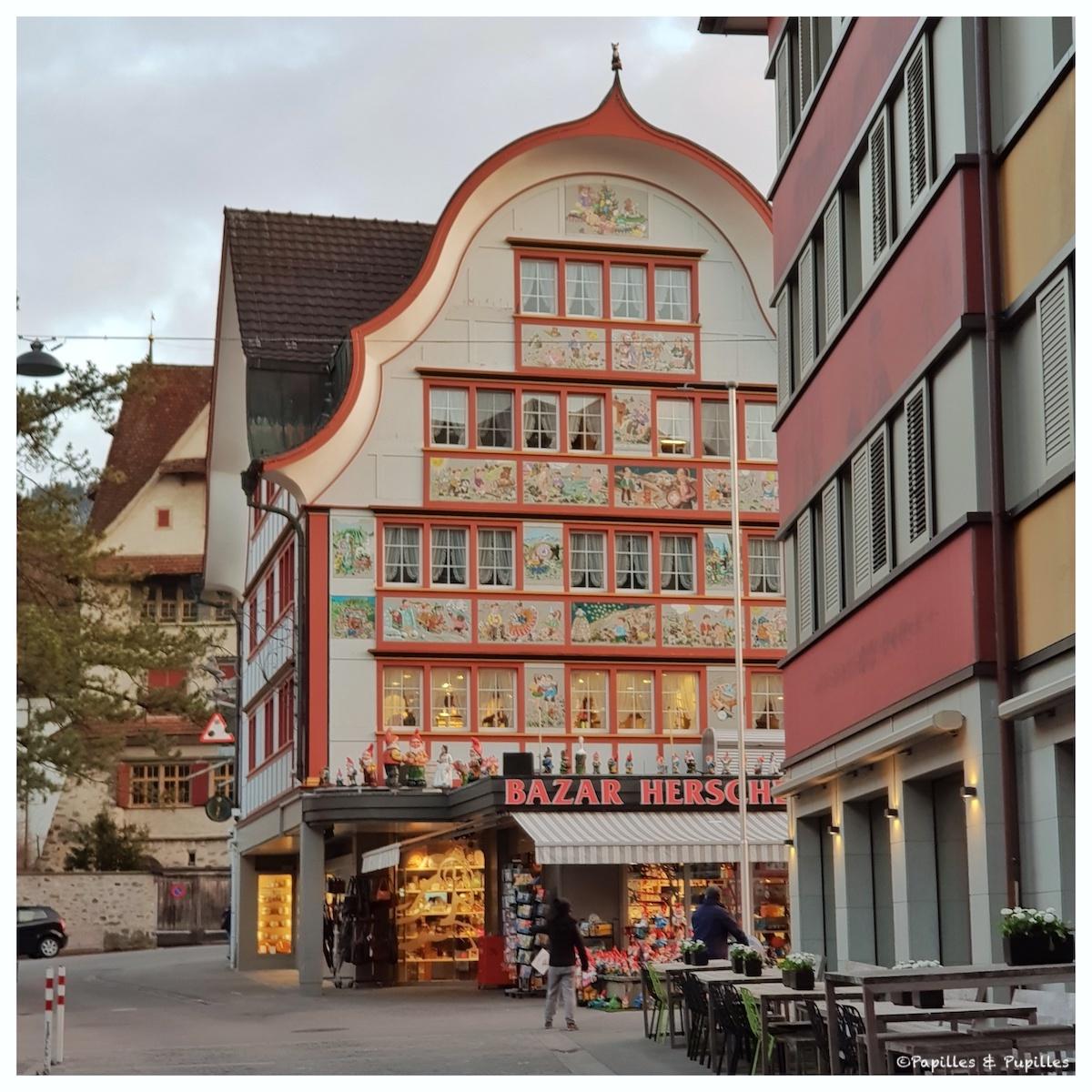 Le bazar d'Appenzell