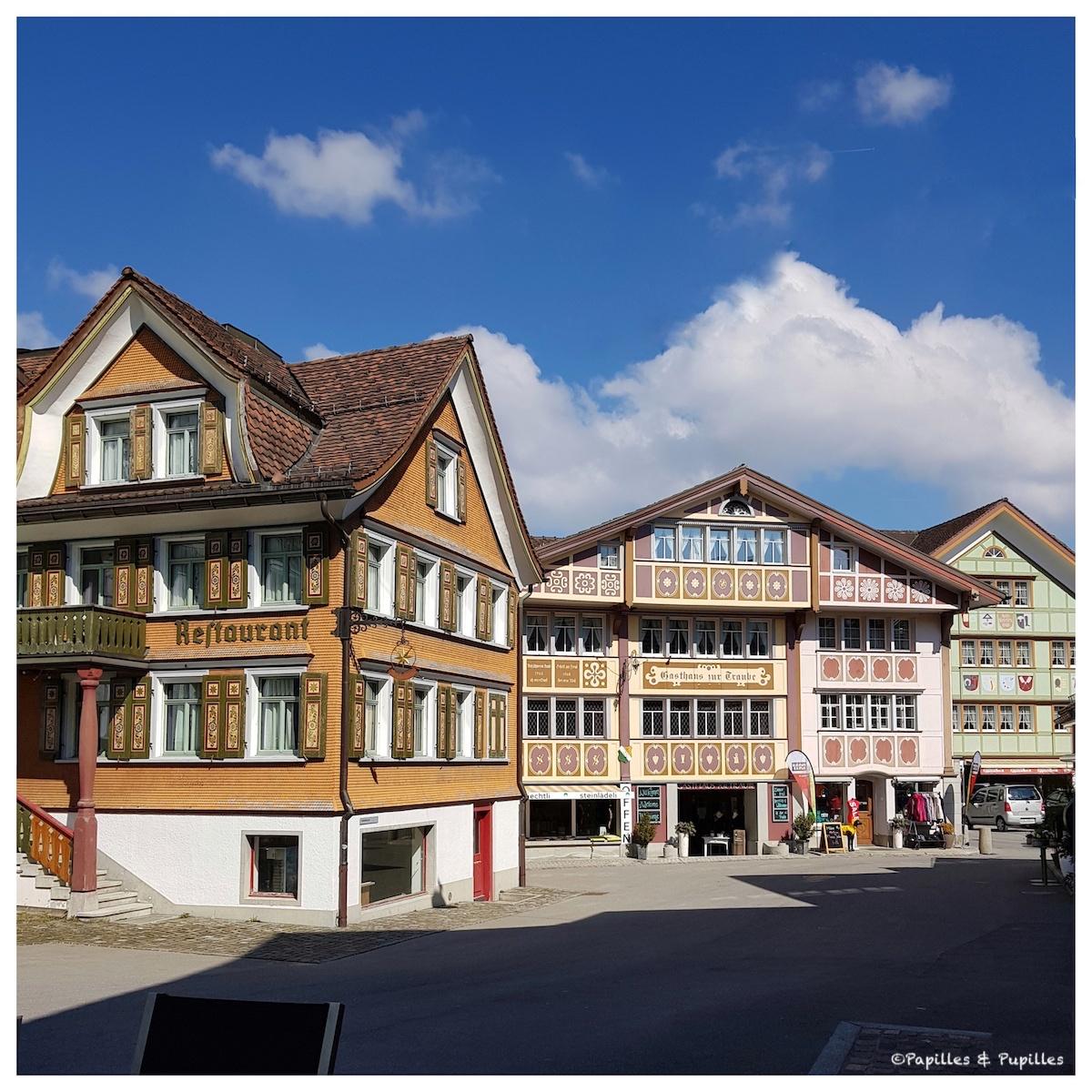 Le village d'Appenzell