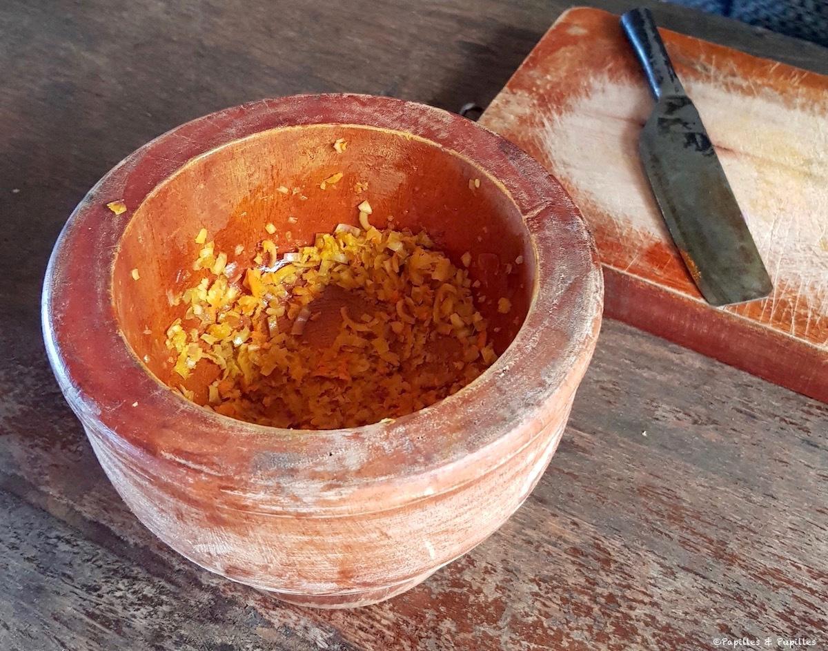 Pâte à base de curcuma