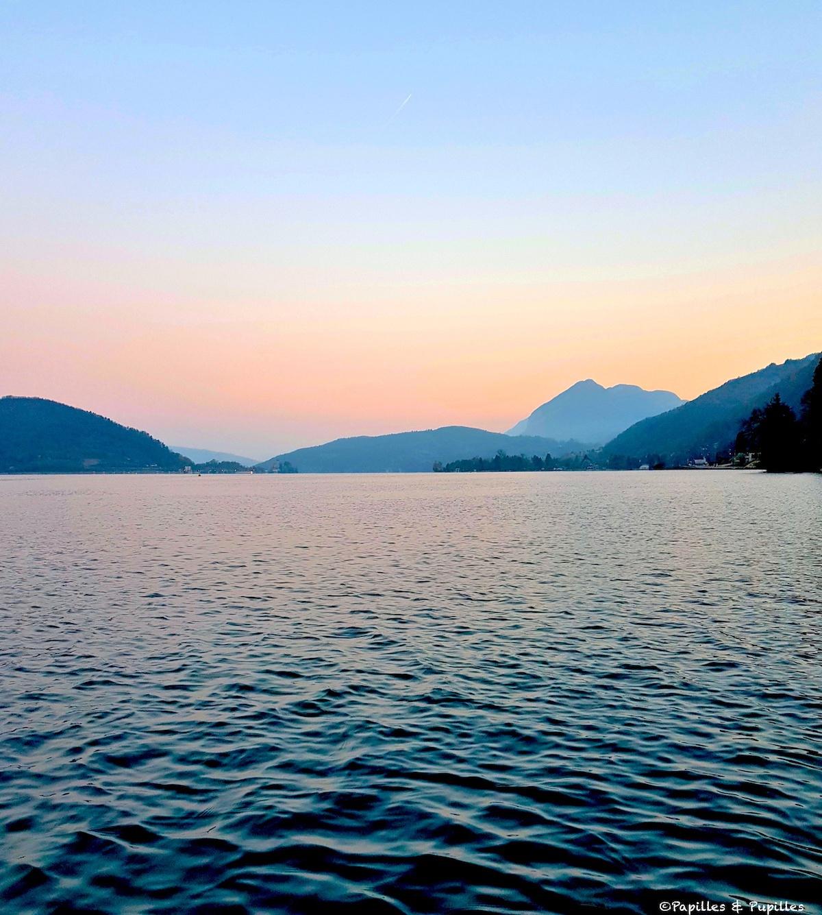 Crépuscule - Lac d'Annecy