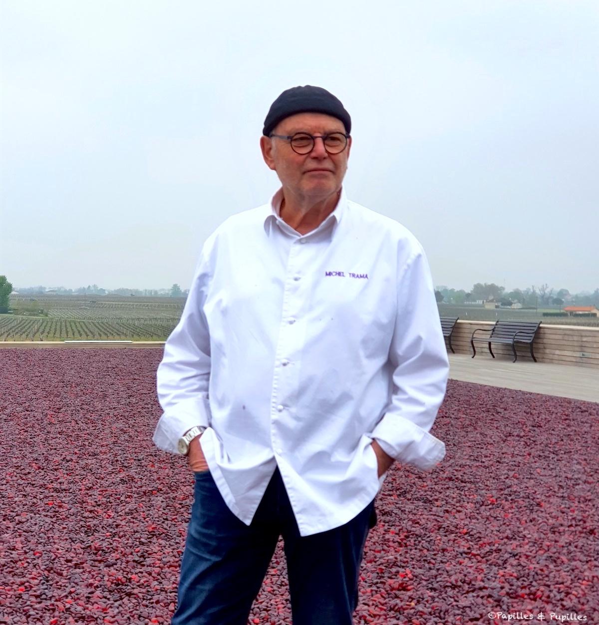Michel Trama - La terrasse rouge