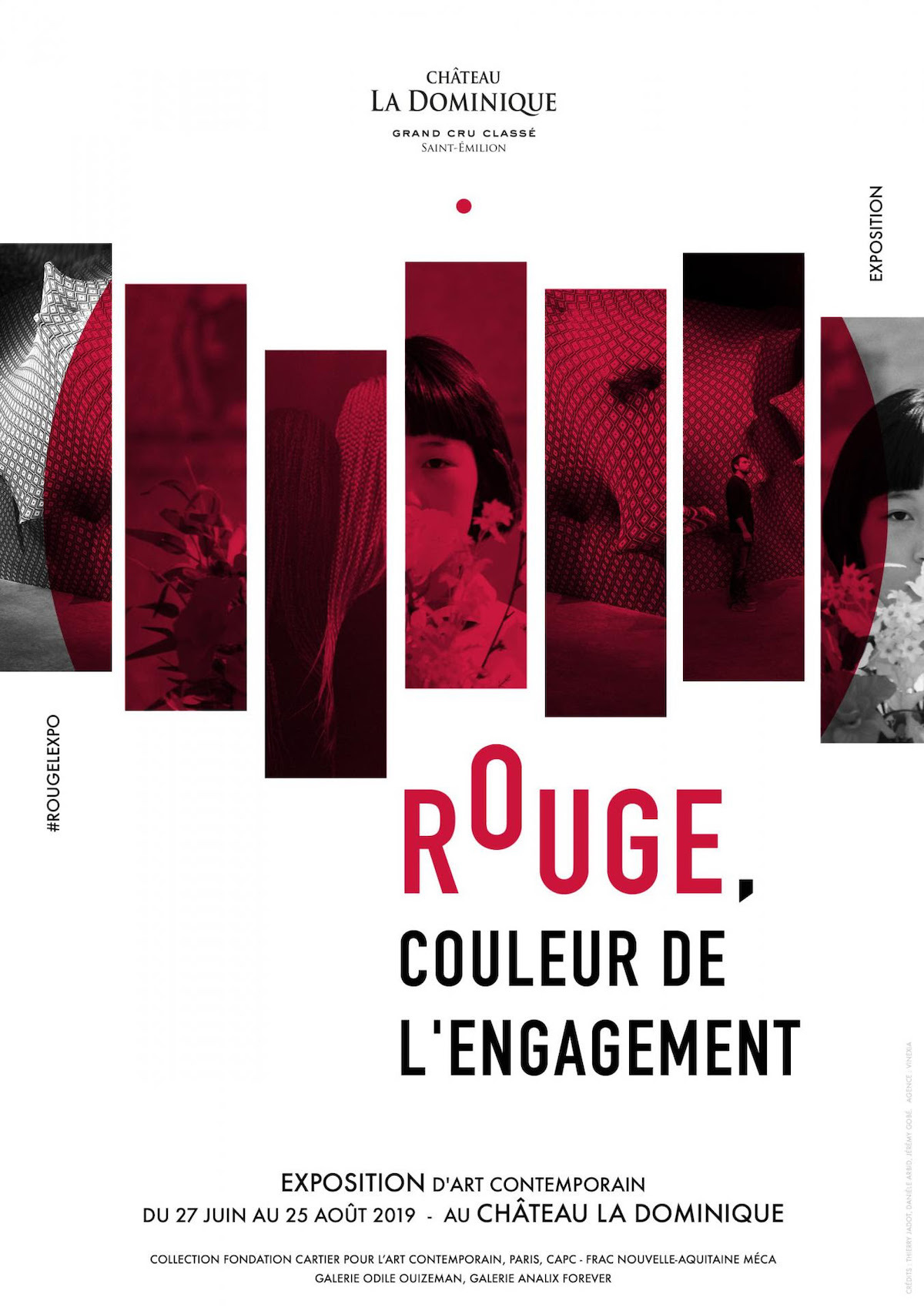 Rouge - couleur de l'engagement
