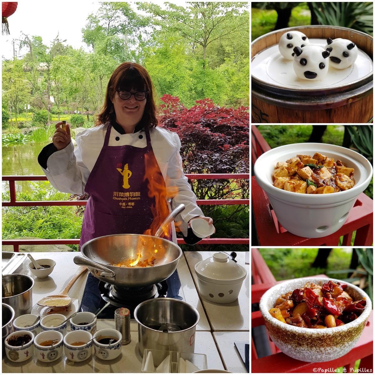 Cours de cuisine Sichuanaise