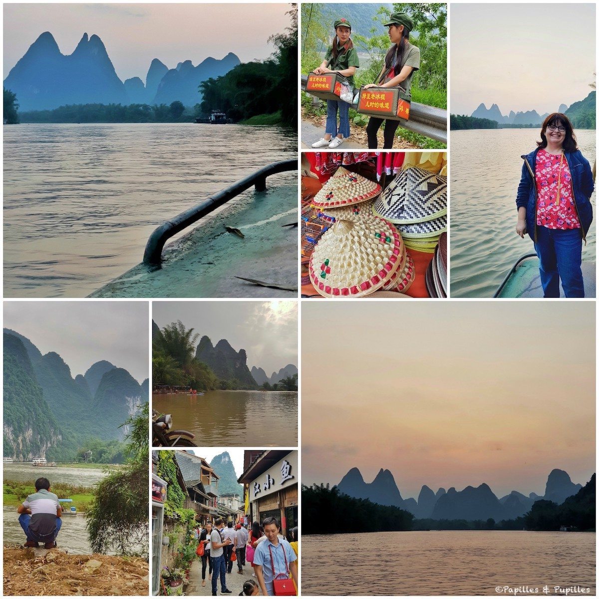 Guilin - Collage