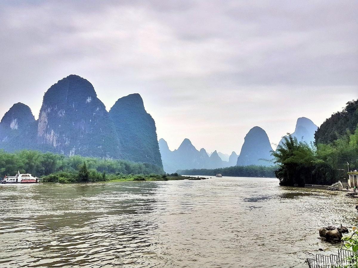 Les paysages surnaturels de Guilin