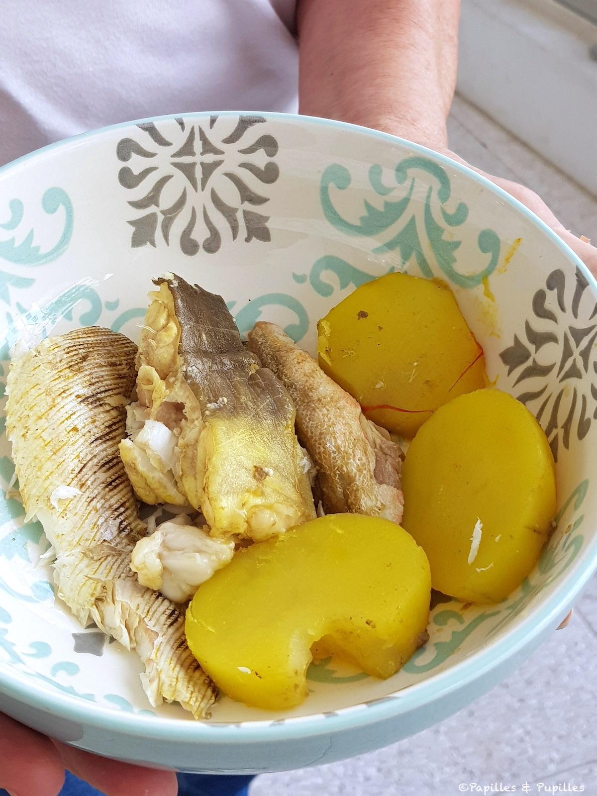 Poisson et pommes de terre