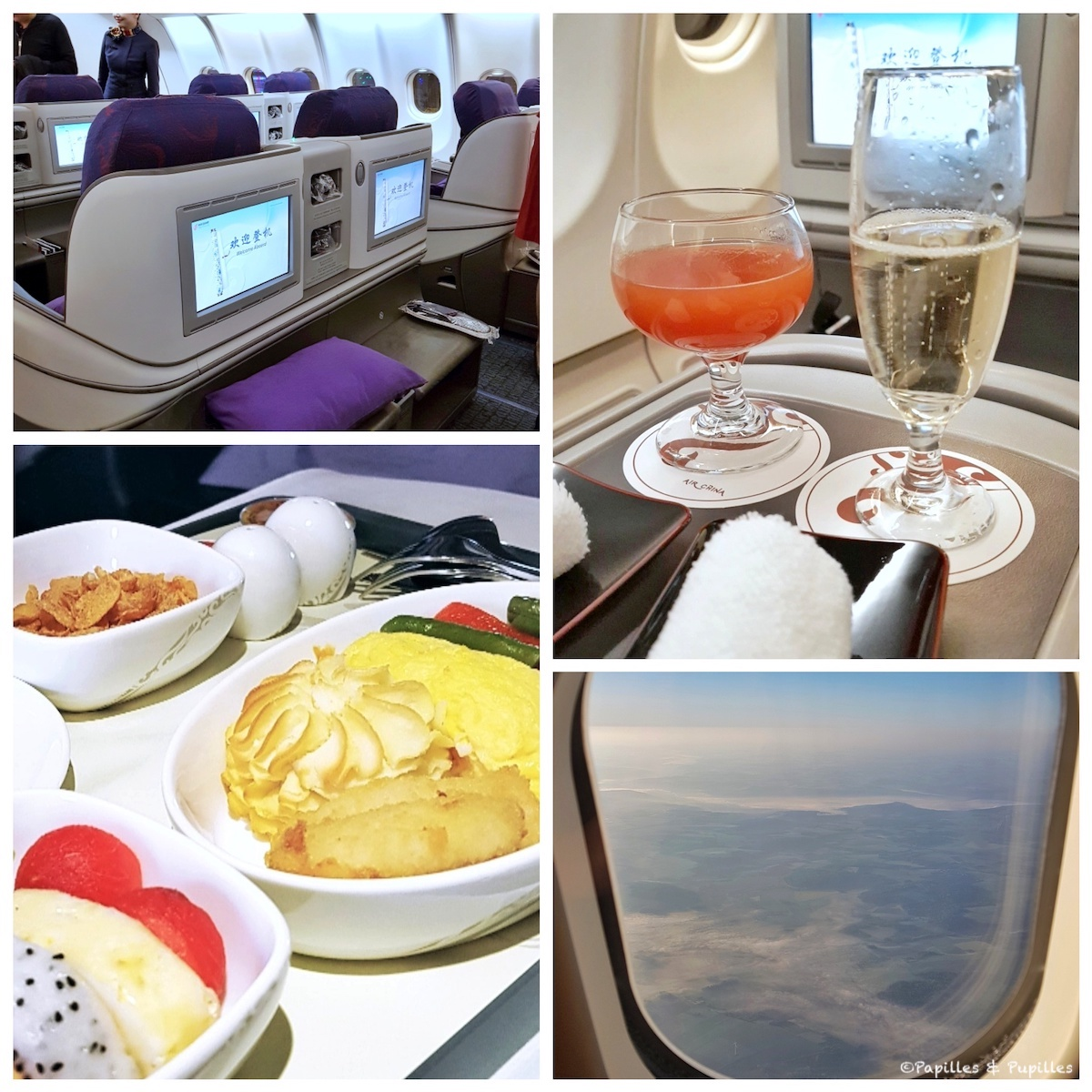 Retour en France avec Air China