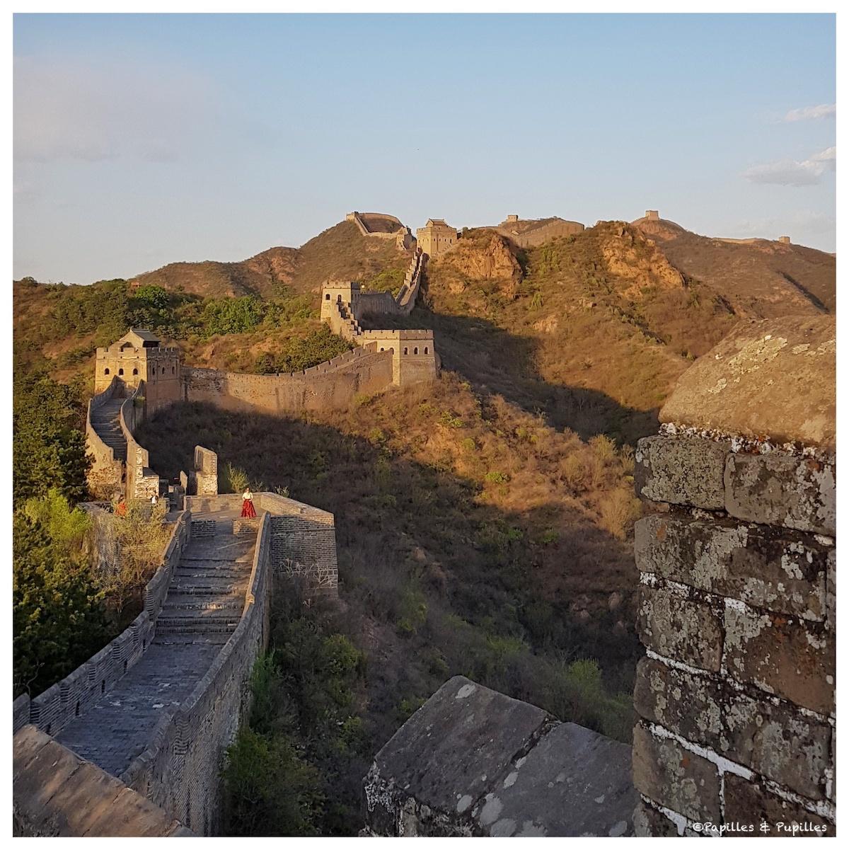 Vue sur la grande muraille