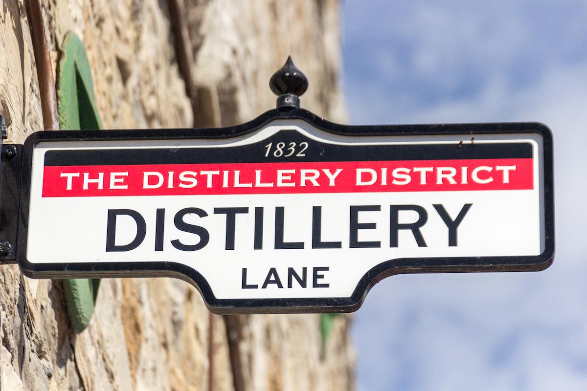Distillery Lane - Toronto ©De Julen Arabaolaza shutterstock