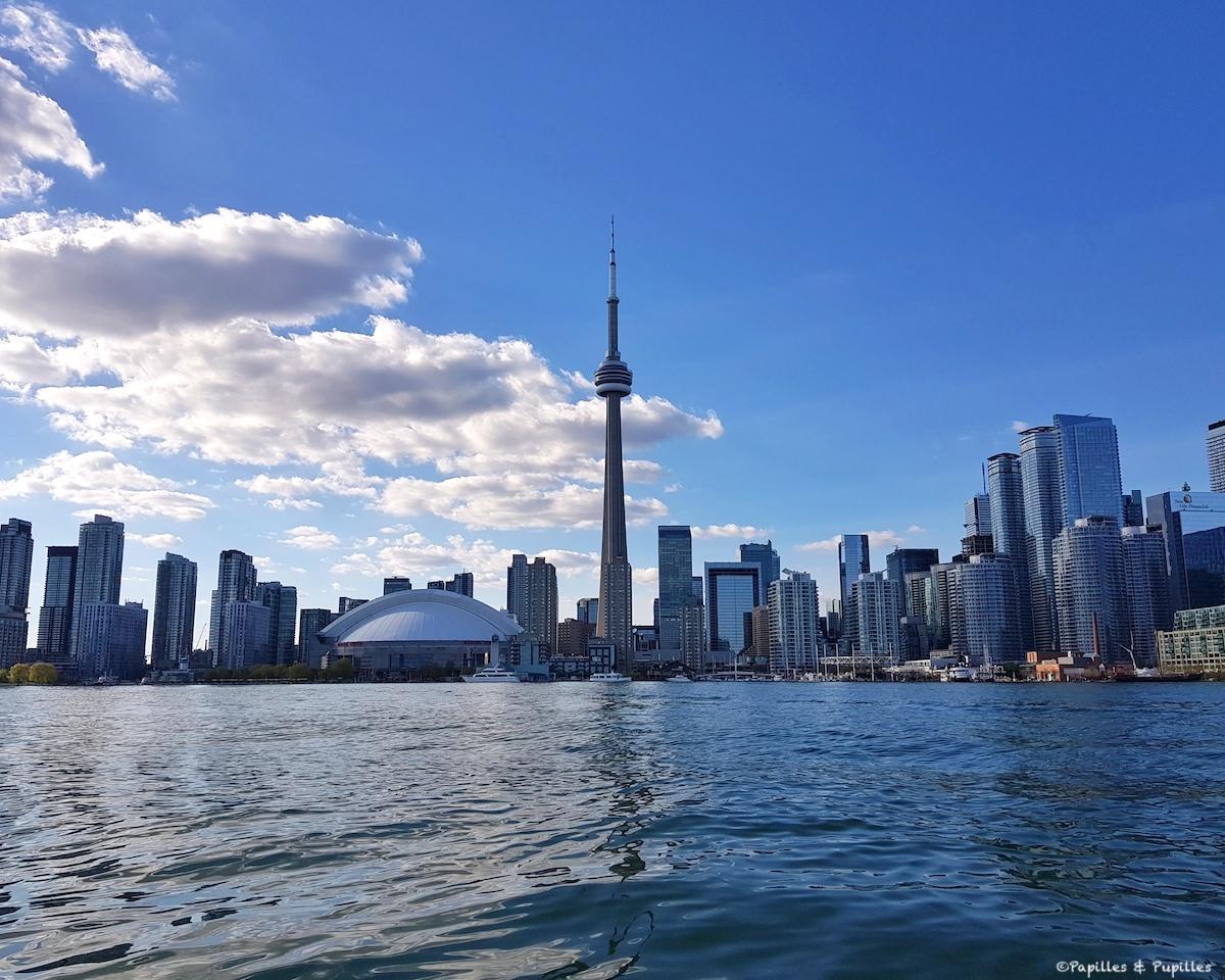En route pour Toronto Island